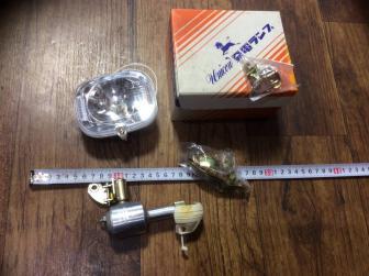 昭和 レトロ 当時物 発電ランプ 旧車 ビンテージ ユニコン  サイクルパーツ 6V3W C-
