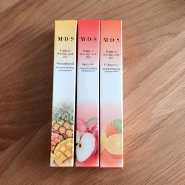 ネイルケアオイル キューティクル ペン パイナップル アップル オレンジ 3本セット 新品