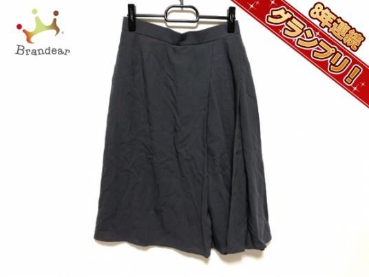 エルメス HERMES ボトムス スカート サイズ40 M グレー レディース 美品