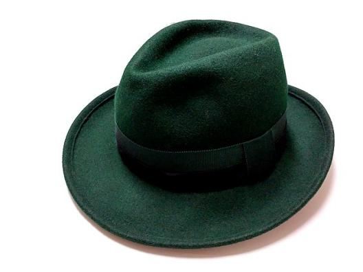 3Q 売切!■ぶるうねすと■帽子■中折れハット■約56cm■グリーン■MIZUNO MILLINER■レデ