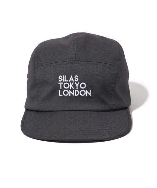 SILAS TOKYO LONDON JET CAP チャコールグレー 美品 サイラス キャップ