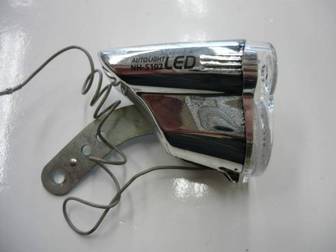 NH-S102  ハブダイナモ用 中古 LEDヘッドライト 商品管理№ 2-193