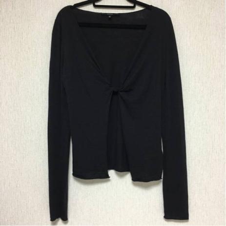 即決☆GUCCI グッチ トップス カーディガン ブラック M USED 美品