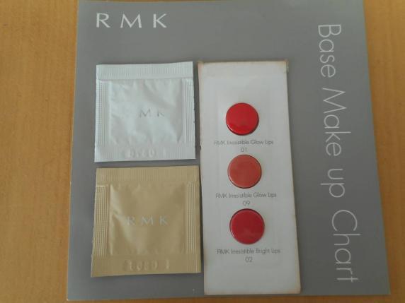 RMK UVリキッドファンデーション102とロングラスティングUV(メイクアップベース)とお