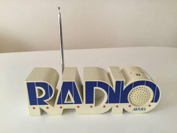 AVON(エイボン)AM/FM ラジオ(RADIO)ヴィンテージ/ノベルティ/USA