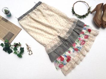 アナスイ ANNA SUI DOLLY GIRL スカート サイズ1 Y848