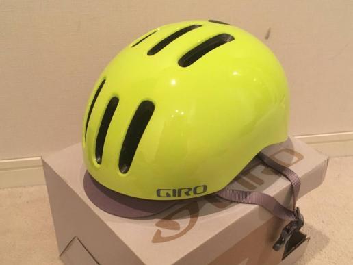 ◎(最終)GIRO REVERB ライムイエロー サイズL(59~63cm)使用感ほぼ無し お洒落な自転