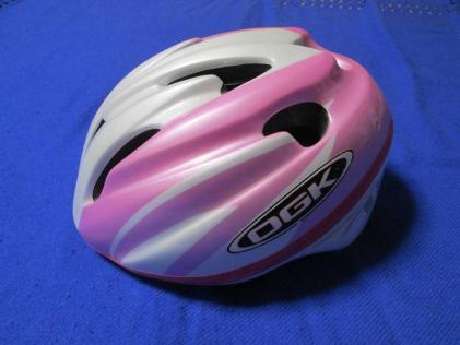 OGK 子供用 自転車ヘルメット 54-56㎝  ピンク