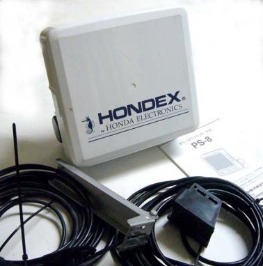 中古品 魚探 HONDEX ホンデックス PS-8 ワイドスキャン付き