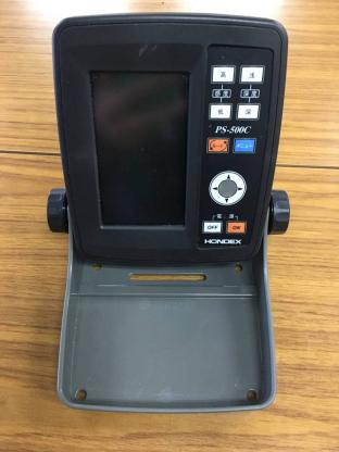 HONDEX ホンデックス カラー液晶 魚群探知機 PS500C 現品のみ 付属品無