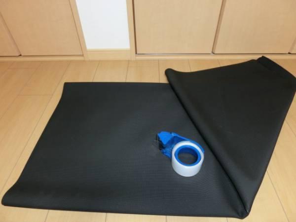 エンボス加工ネオプレーンゴムシート 伸縮自在で完全防水・絶縁 200×110cm Q