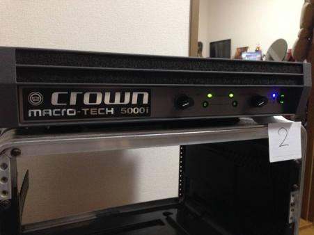CROWN macro-tech5000i 中古 no,2