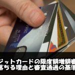 クレジットカード限度額の増額審査に落ちる5つの理由と4つの審査基準