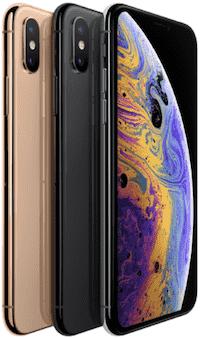UQモバイルのiPhone XS