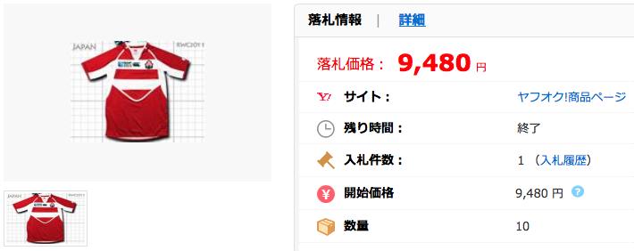 入手困難 ラグビー日本代表 2011W杯モデル Home(赤白) S~XXXL