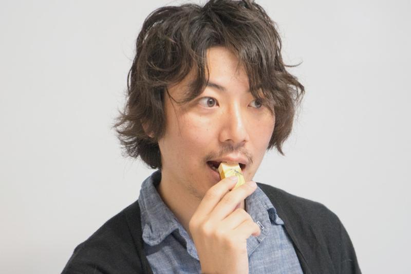ゴム食べる